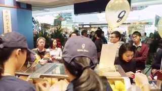 Garrett Popcorn Shops® opens at Festival Walk in Hong Kong!