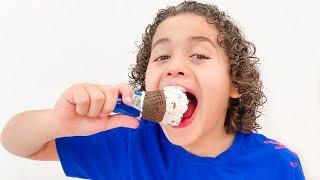 LORRAYNE ENGANA RYAN COM A MÁGICA DO SORVETES NOVAMENTE  Lorrayne cheats Ryan with ice cream magic