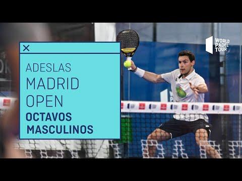 Resumen Octavos de Final Masculinos - Adeslas Madrid Open 2021 (Tarde) - World Padel Tour