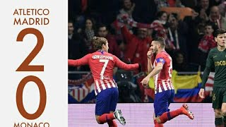 Atletico Madrid vs Monaco (2-0) | All goals and highlights | 11/28/18