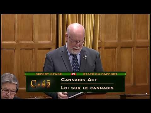 Speech - C-45 - Cannabis Act - November 21, 2017