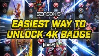 How To Get 4K BADGE On Apex Legends (Season 5)