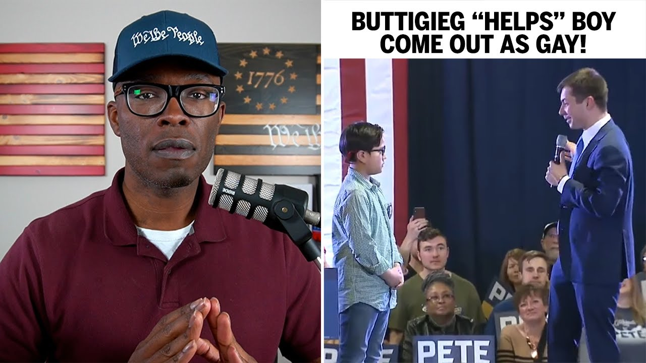 "Pete Buttigieg ""Helps"" NINE-YEAR-OLD BOY Come Out As Gay (REACTION)"