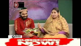 Arifin Rumi  birth Day Celebration of Rtv Live With Rumi's Mother Today