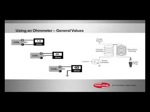 Using an Ohmmeter: General Values (Ignition Coil Diagnostics)