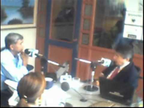 Radio Forever Music 92.5 FM Entrevista a Guillermo Lasso Mendoza 03 10 2011