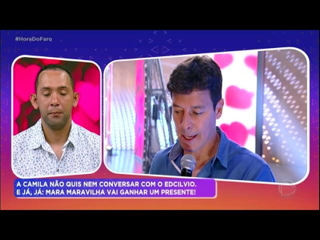Em busca de perdão, Edcilvio se surpreende com resposta de Camila