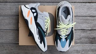 ADIDAS YEEZY BOOST 700 WAVE RUNNER (RESTOCK) | unboxing - overview & on-feet!!