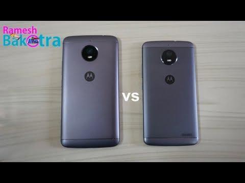 Moto E4 Plus vs Moto E4 SpeedTest Comparison