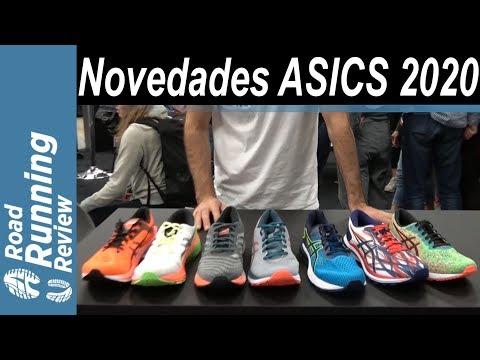 Novedades ASICS 2020