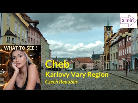 WHAT TO SEE in Cheb, Karlovy Vary Region, Czech Republik (2 minutes in Europe Collection)