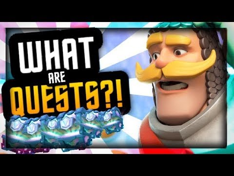 Clash Royale Update :: QUEST INFORMATION REVEALED