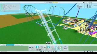 Wie man eine Schleife in Ihre Achterbahn auf ROBLOX Themenpark Jolina7 Spielt
