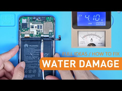 How To Fix Water Damage - Full Ideas - Huawei Phone Motherboard Repairs
