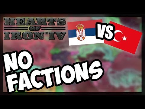 Millennium Chaos | SERBIA v KEBAB - HOI Free For All on Modern Day - Hearts of Iron 4 [HOI4]