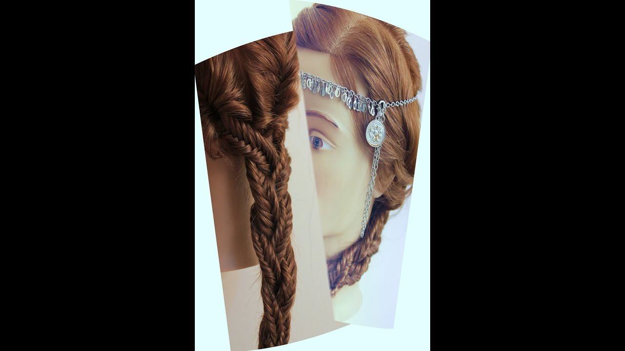 Khajuribraid Hairstyle By Estherkinder YouTube - Hairstyle design dikhaye