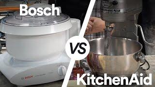 KitchenAid vs. Bosch: Which Stand Mixer is Best?