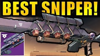 Destiny 2: BEST PvE SNIPER! New IKELOS Escalation Protocol Sniper Rifle | Warmind