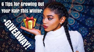 6 Tips for Growing Out Your Hair This Winter + giveaway | jasmeannnn