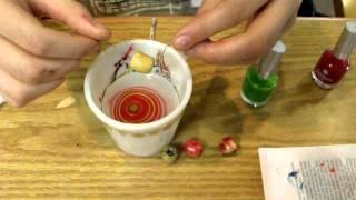Dip and Swirl Nail Polish Crafts