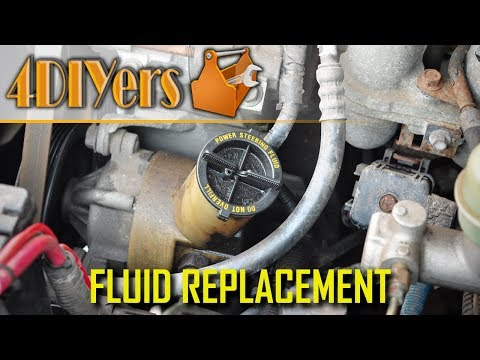 How to Replace the Power Steering Fluid on a Ford Ranger