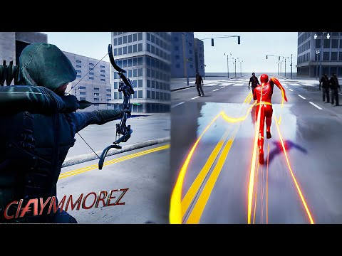 The Flash Goes SUPERSONIC Speed! w/ Green Arrow gameplay(Crisis On Earth One Gameplay)