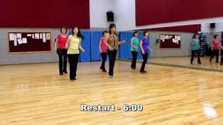 Wake Me Up - Line Dance (Dance & Teach in English & 中文)