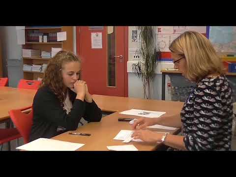 Example of a GCSE French speaking test