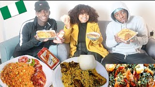 AFRICAN FOOD MUKBANG 🇳🇬   TOMI IS HAVING A BABY...