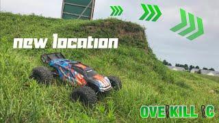 BIG. GRASS. MOUNDS. | Traxxas E Revo 2.0 Bash | Overkill RC