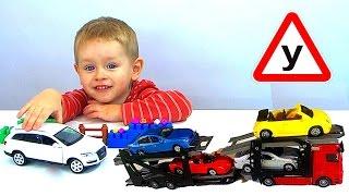 Игрушечные машинки Детская Автошкола Суперкар 4й урок