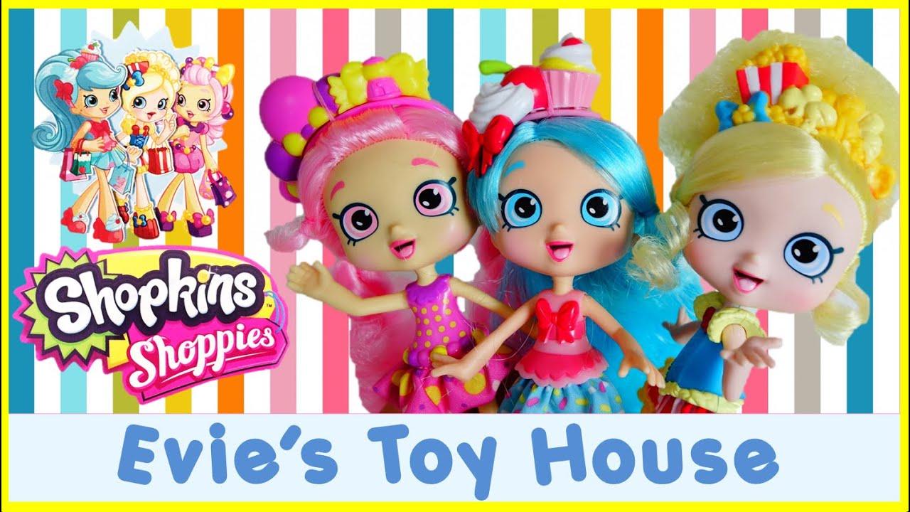 Shopkins shoppies dolls full set popette jessicake bubbleisha with
