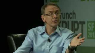 John Doerr Discusses The NSA | Disrupt SF 2013