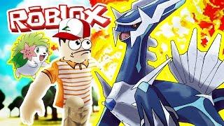 DIALGA - SHAYMIN! / Pokemon Fighters EX / Roblox Adventures