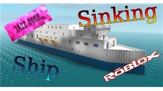 Jazz Does - Roblox Sinking Ship
