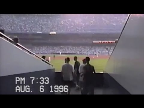 Exploring the old Yankee Stadium in 1996