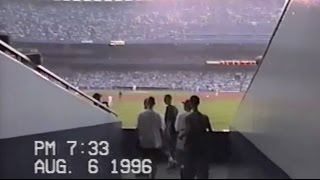 Exploring the old Yankee Stadium in 1996