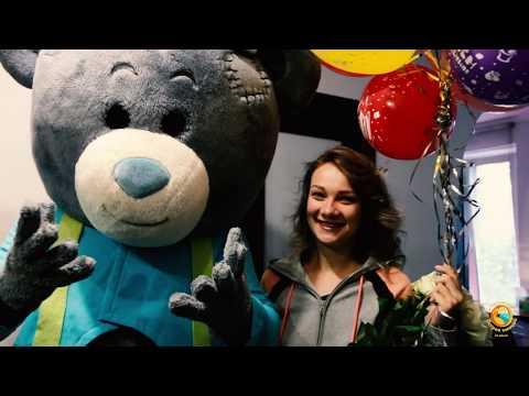 Поздравление на день рождения. Мишка Тедди поздравляет с днем рождения. Поздравление красивое