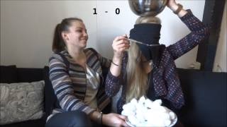 Cotton Ball Challenge met Lizzy (OurFavouritesTV)