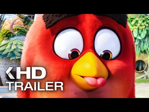 ANGRY BIRDS Exklusiv Movie Trailer German Deutsch (2016)