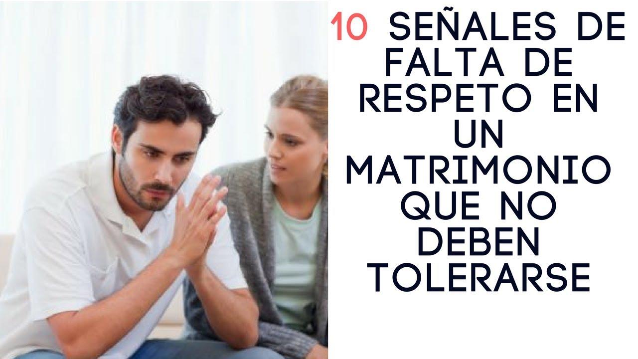 10 Señales De Falta De Respeto En Un Matrimonio Que No Deben