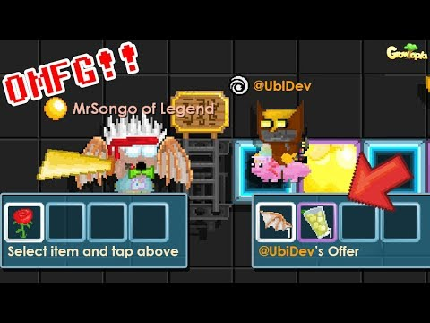 Ubidev Kaurkal Give Me Best Gift Ever Omg Growtopia By Mrsongo Gt