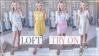 LOFT Try On Clothing HAUL | Spring Outfits | Shannon Sullivan