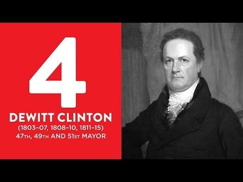 BEST MAYORS: #4 DeWitt Clinton