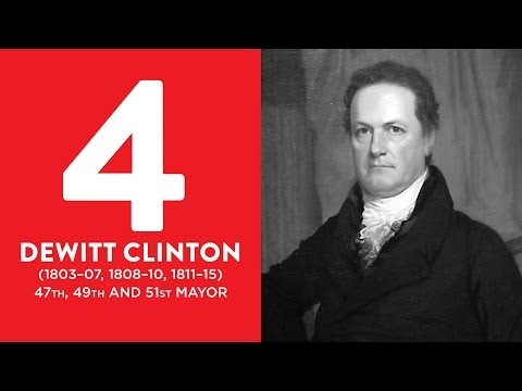 BEST MAYORS: #4 DeWitt Clinton