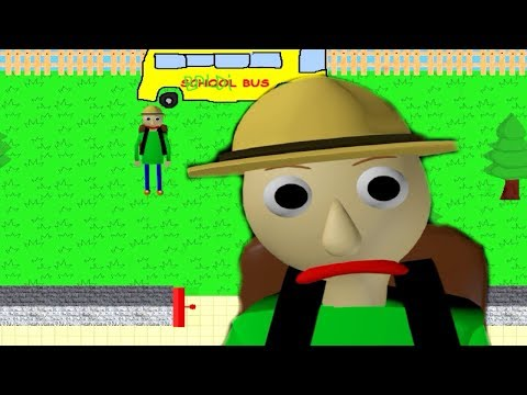 Baldis Basics Field Trip 2D DEMO