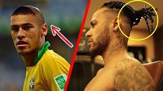 Los 7 peinados más extravagantes de Neymar en su carrera
