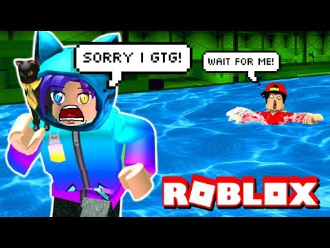 ESCAPE FROM THE FLOOD! Roblox Challenge!