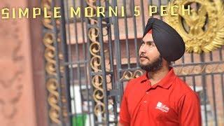 SIMPLE MORNI | MORNI | TURBAN TUTORIAL | BY DIDAR SINGH