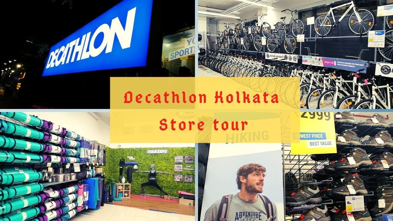 4c2c5ba037 DECATHLON Salt Lake Kolkata Store Tour   Affordable Sports   Fitness ...